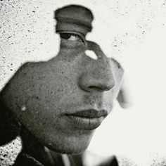 Multiple exposure portraits by Christoffer Relander. Cool idea to try on photoshop!