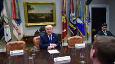 Trump shames Pelosi, Schumer with empty seats at meeting they boycotted.~ looks like the old democratic obstructionists are all worn out! They lost and now are hiding or just circling the swamp drain❗️
