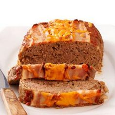 Bacon Cheeseburger Meatloaf | Best Recipes Try
