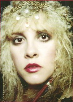 """In a candid autobiography Mick Fleetwood wrote in 1990, he describes Stevie as a 'high priestess' more than once: """"Stevie went through six costume changes and poured herself into 'Sara' wrapped in a long red shawl that made her look like a high priestess. I looked out (into the audience) and saw they were hers. Her intimate gestures, soothsayer's words, and majestic raised palms and magic. The girls strained to hear the unheard lines Stevie liked to chant out of range of the microphone."""""""