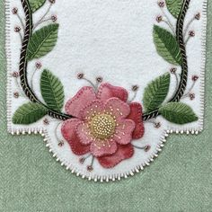 Wild Roses Table Runner