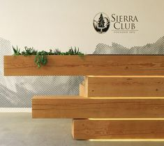 I like the idea of greenery .... Sierra Space by Logan Johnson Architecture