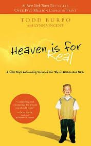 Our favorite books headed to the big screen in 2014: Heaven is for Real by Todd Burpo and Lynn Vincent