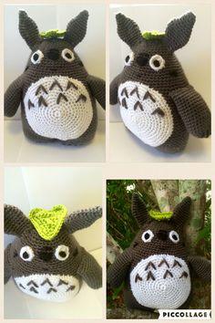 My neighbour Totoro crochet amigurumi plush from my own pattern
