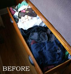 Keeping drawers neat and organized!