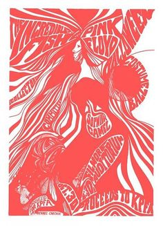 Pink Floyd (Oct 30, 1967) Fillmore Auditorium San Francisco CA - concert not performed due to visa issues..they entered the US the first week of November!