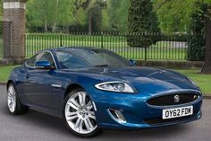 Used 2012 (62 reg) Kyanite Blue Metallic Jaguar XK 5.0 Supercharged V8 R 2dr Auto for sale on RAC Cars