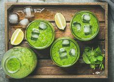Zielony koktajl mocy - Koktajle na urodę, na kaca, na nadciśnienie - 12 przepisów na zdrowe i pyszne napoje