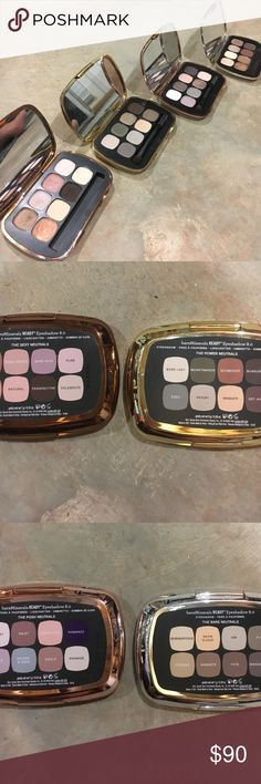 3 New Bare Minerals Eyeshadows NWT