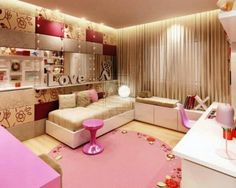 Teenage girl room inspiration inspired young girls bedroom view in Cute Bedroom Ideas, Awesome Bedrooms, Cool Rooms, Small Rooms, Beautiful Bedrooms, Small Spaces, Romantic Bedrooms, Nursery Ideas, Teenage Room Designs