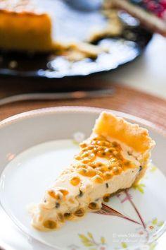 Pannacottapaj med passionsfrukt LCHF - 56kilo - livsstil, matglädje och feelgood.