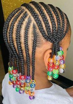 Black Baby Girl Hairstyles, Little Girls Natural Hairstyles, Toddler Braided Hairstyles, Little Girl Braid Hairstyles, Toddler Braids, Little Girl Braid Styles, Kid Braid Styles, Little Girl Braids, Kid Styles