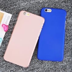 Ultra thin Matte Frosted Phone Cases For Iphone 7 6 6s Plus SE 5 5s