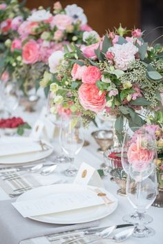 Photography : Rahel Menig Photography Read More on SMP: http://www.stylemepretty.com/california-weddings/carmel-valley/2016/11/18/three-ways-to-style-the-perfect-california-wedding/
