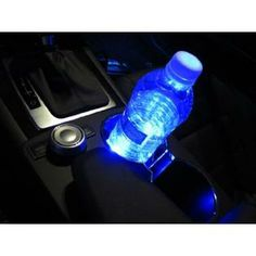 blue Interior Truck Lights and Accessories | ... Glove Box, Ashtray, Car Interior Decoration Strip Lights, Ultra Blue