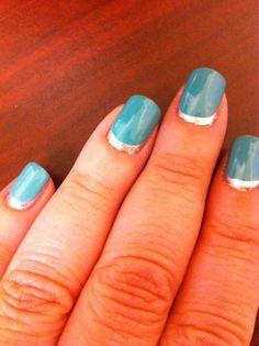 Ruffian manicure with Zoya Wednesday and Trixie shared via Twitter!