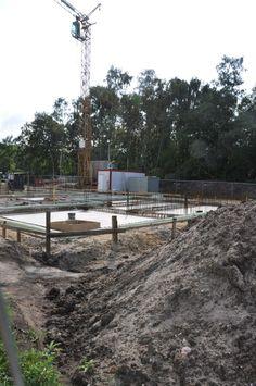 Hier sieht man den künftigen Standort unseres Holz-Pellets-Kessels.