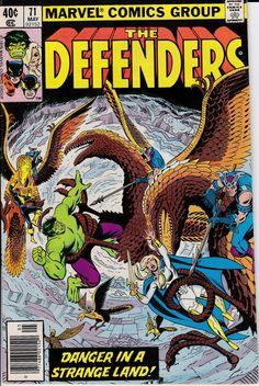 The Defenders VF/NM Marvel 1979 Hulk Valkyie Nighthawk Hellcat Lunatik Marvel Comics Superheroes, Marvel Comic Books, Marvel Characters, Comic Books Art, Comic Art, Book Art, Marvel Heroes, Defenders Comics, Incredible Hulk