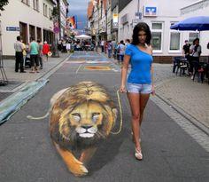 Arte de Viver em calçadas