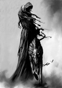 Monk by donek at epilogue creepy art, dark art, fantasy art, dark fantasy Grim Reaper Art, Don't Fear The Reaper, Halloween Illustration, Dark Gothic, Gothic Art, Dark Fantasy Art, Dark Art, Reaper Tattoo, Dark Fantasy
