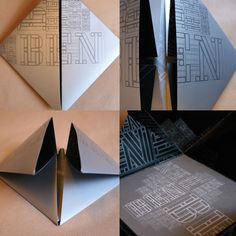 Folded invitation. Postage would be a bit more given the square shape.