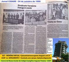 IJUÍ - RS - Memória Virtual: Sindicato do Comércio Varejista de Ijuí inaugurou ...