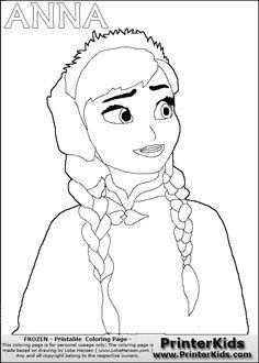 frozen coloring pages | ... » printerkids disney pixar frozen olaf ...