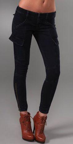 J Brand Houlihan Cargo Skinny Jeans