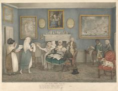 Lewis Vaslet, 1742-1808, The Spoiled Child, Scene VI, ca. 1802, Watercolor with black ink and gray wash over graphite on moderately thick, s...
