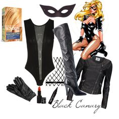 Black Canary Costume by wonderland449 on Polyvore