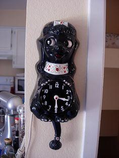 poodle clock