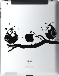 http://www.itattoo.com/products/101-ipad  iTattoo decals will make you standout from the crowd, all while not taking away from the beauty and sleekness of your product but actually adding a distinctive uniqueness.