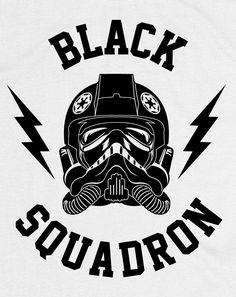 Image of Star Wars Tie Fighter Black Squadron Tee