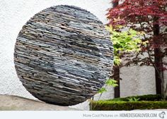 dry bricks circularRock Design / SculptureMore Pins Like This At FOSTERGINGER @ Pinterest