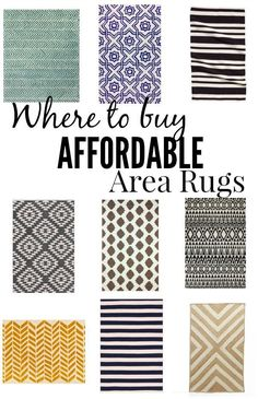 A quick guide on where to buy the most affordable area rugs online. With prices as low as $24.95. Must read!