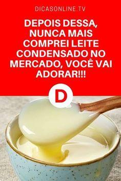Leite condensado caseiro | DEPOIS DESSA, NUNCA MAIS COMPREI LEITE CONDENSADO NO MERCADO, VOCÊ VAI ADORAR!!!