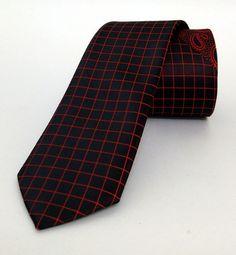 Red Mens Tie 5,5 cm (2,17 #handmadeatamazon #nazodesign