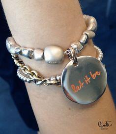 let it be, queriot, bracciali, frasi positive, regali