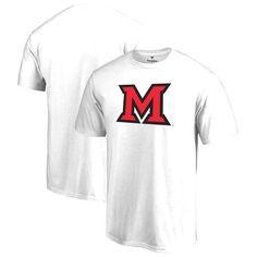 Miami University RedHawks Big & Tall Primary Logo T-Shirt - White - $24.99