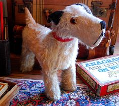 Vintage Toy Dog Jack Russell Terrier