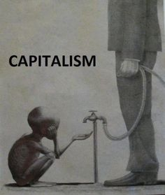 """This is not a product of """"Capitalism"""" it is a product of food storage and changes that occurred during the agricultural revolution. THOUSANDS of years prior to Capitalism. Capitalism makes those charities, you're so fond of, that attempt to feed some of these children possible. (Oh wait that's right you didn't donate to those charities, you just pin stupid pictures while collecting checks.) Read a fucking book."""