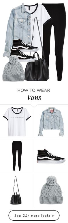 """""""Sin título #11864"""" by vany-alvarado on Polyvore featuring T By Alexander Wang, H&M, Vans and Rella"""
