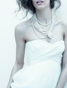 J.Crew. Knotty pearls.