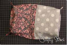 Easy Lined Zippered Bag - Crafty Staci 15