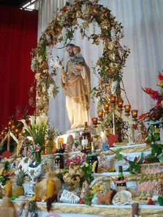 Beautiful Saint Joseph's Day Table