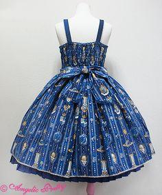 Astroレジメンフリルジャンパースカート