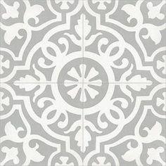 """Mission Amalia B Encaustic Cement Tile 8""""x8"""""""