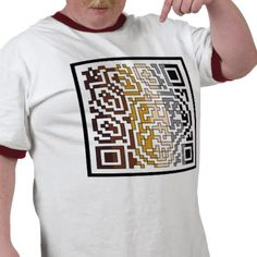 Bear QR code T Shirt from http://www.zazzle.com/gay+tshirts