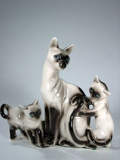 TV Lamps.  Mother liked the cats.  Also had a black panther one.