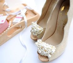 Wouldn't mind walking down the aisle in these